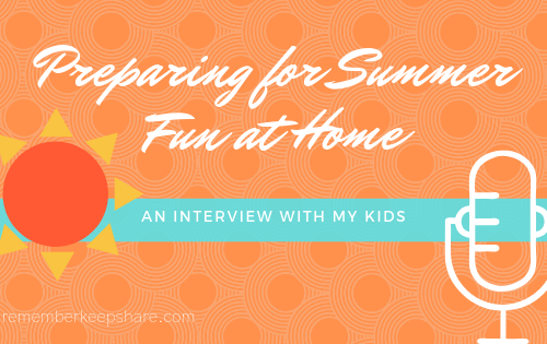 Summer Interview Kids