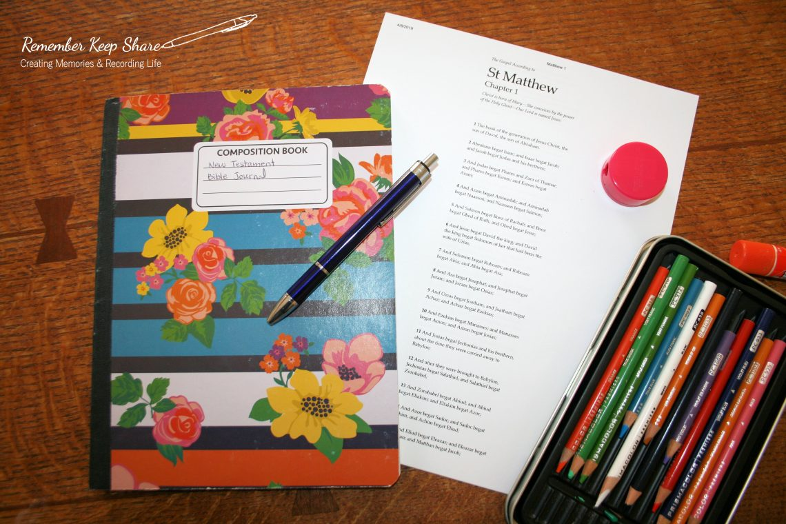 Create a Wide Margin Scripture Journal