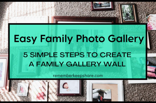 5 Simple Steps to Create a Family Gallery Wall